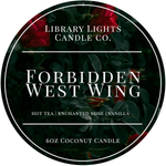 6oz Tin Candle - Forbidden West Wing