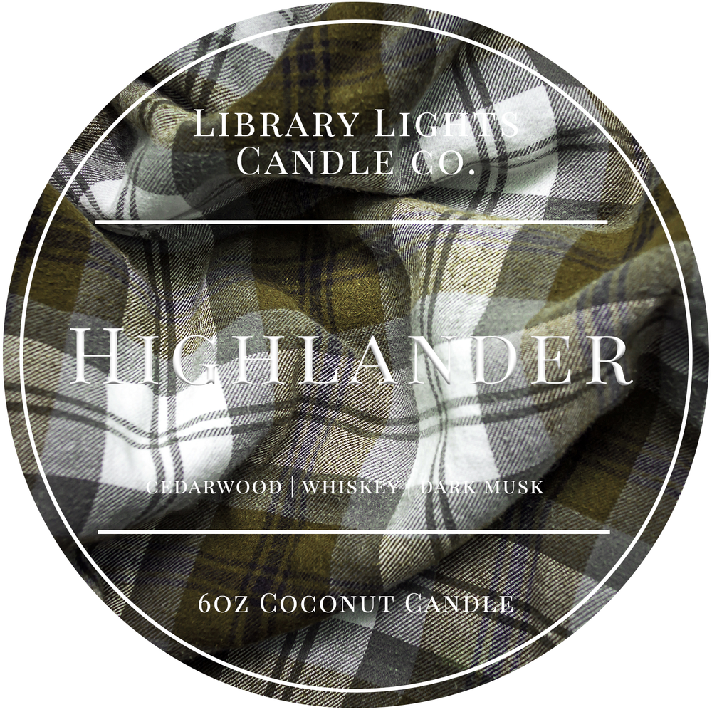 6oz Tin Candle - Highlander