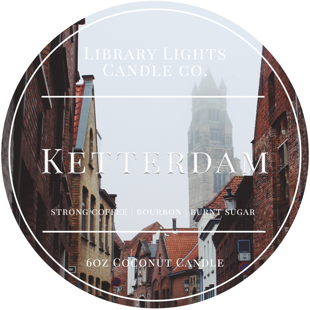 6oz Tin Candle - Ketterdam