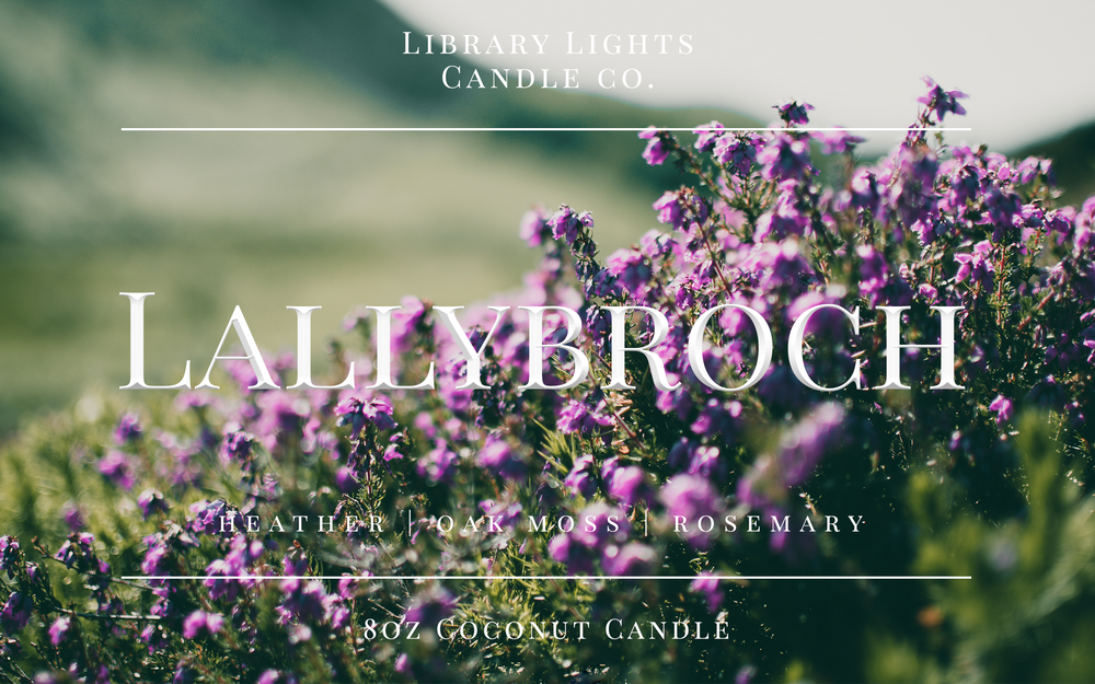 8oz Jar Candle - Lallybroch