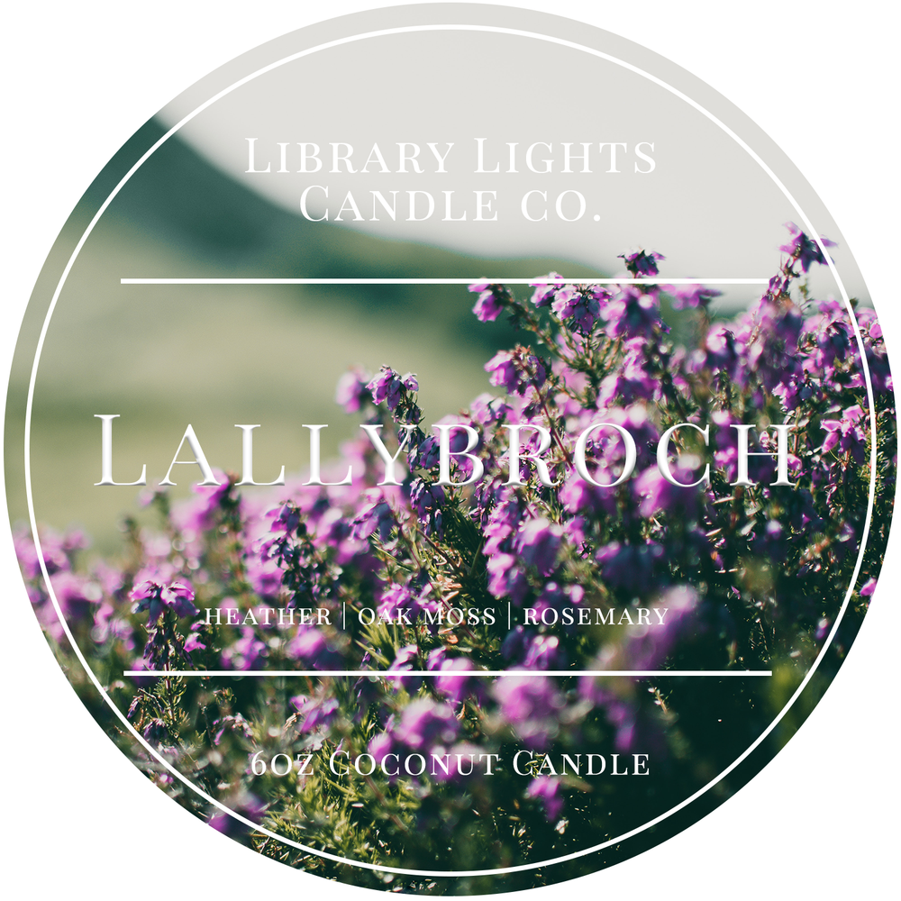 6oz Tin Candle - Lallybroch