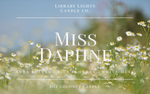 8oz Jar Candle - Miss Daphne