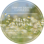 6oz Tin Candle - Miss Daphne