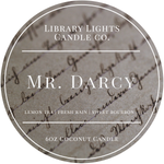 6oz Tin Candle - Mr. Darcy