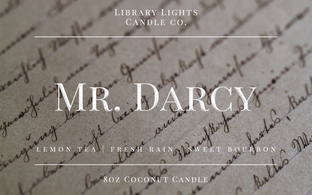 8oz Jar Candle - Mr. Darcy