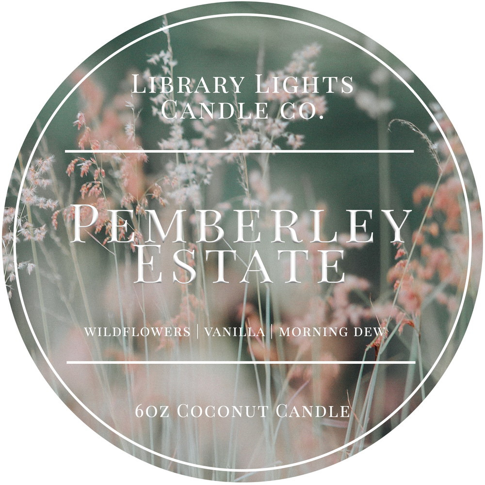 6oz Tin Candle - Pemberley Estate