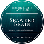 6oz Tin Candle - Seaweed Brain