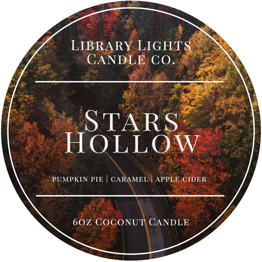 6oz Tin Candle - Stars Hollow