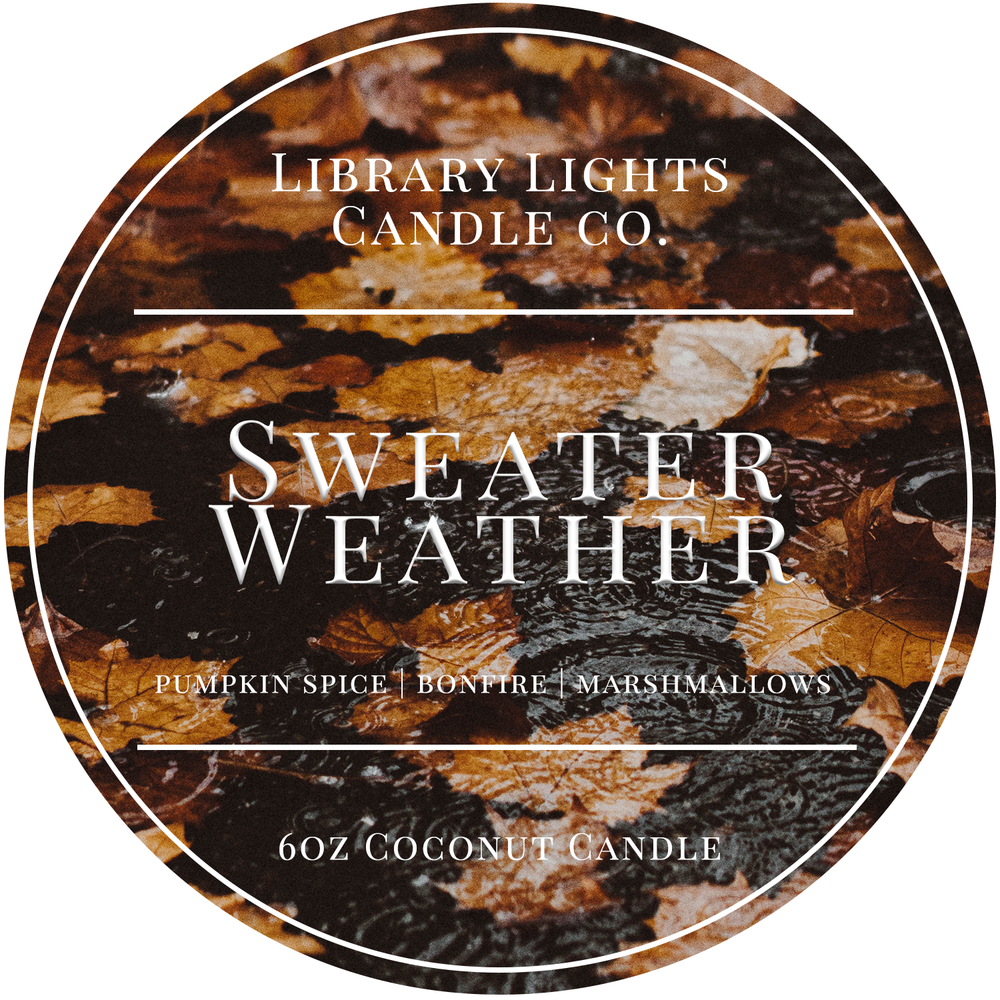 6oz Tin Candle - Sweater Weather