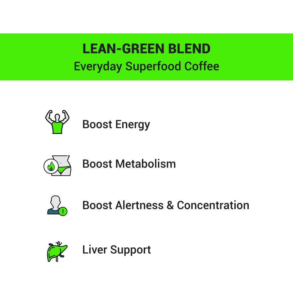 Bondi Coffee Lean-Green Superfood Blend - 7 Day Trial Pouch - Bondi Coffee