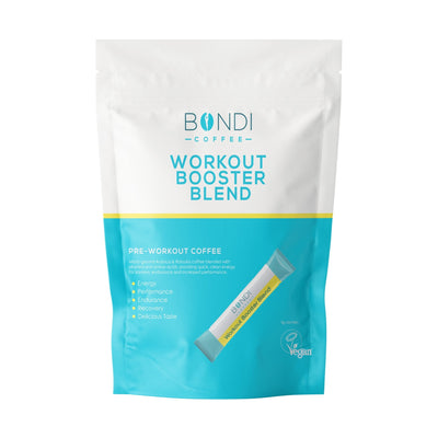 Bondi Coffee Pre-Workout Booster Blend - 7 Sachets - Bondi Coffee
