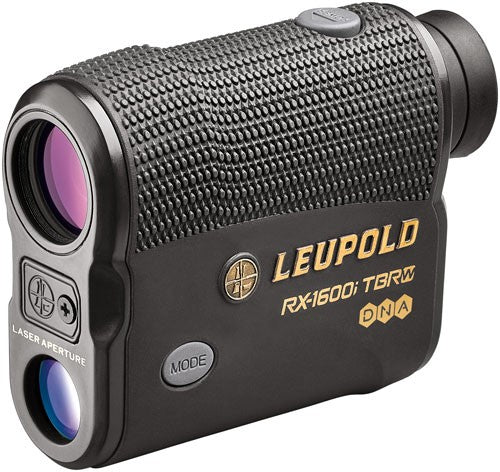 LEUPOLD RX-1600i TBR W/DNA LASER RANGEFINDER BLACK/GRAY - Hot Sporting Optics