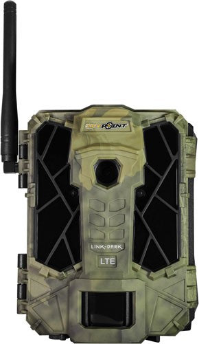 SPYPOINT TRAIL CAM LINK DARK AT&T 12MP BLACKOUT CAMO - Hot Sporting Optics
