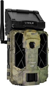 SPYPOINT TRAIL CAM LINK SOLAR AT&T 12MP LOW GLOW CAMO - Hot Sporting Optics