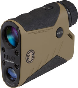 SIG OPTICS LASER RANGEFINDER KILO 2400 ABS 7X25 FDE - Hot Sporting Optics