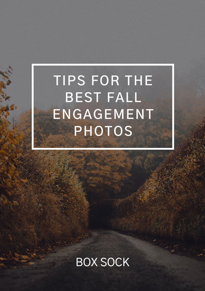 Tips for the best fall engagement photos