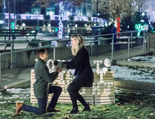 Salt Lake City proposal, Salt Lake City, Love at first flight, Flight proposal, The Yes girls events, the box sock, winter proposal, holiday proposal