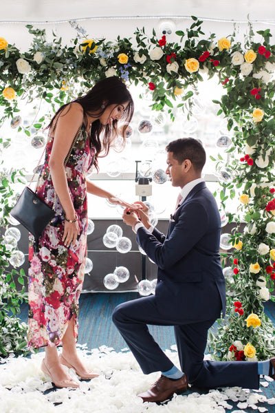 college sweetheart proposal ideas
