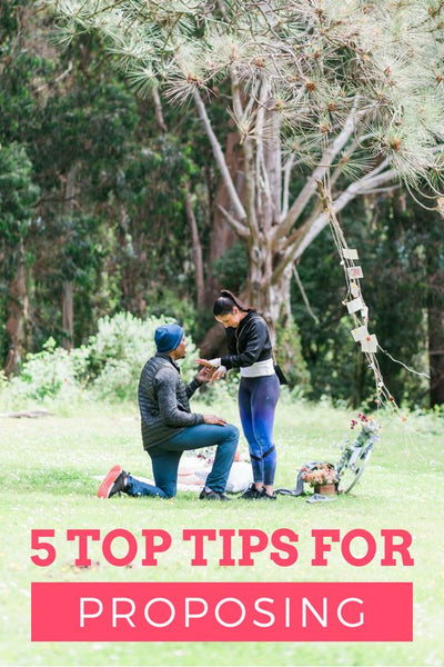 tips before you propose