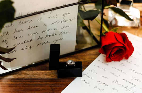 Thin Ring Box for surprise proposal