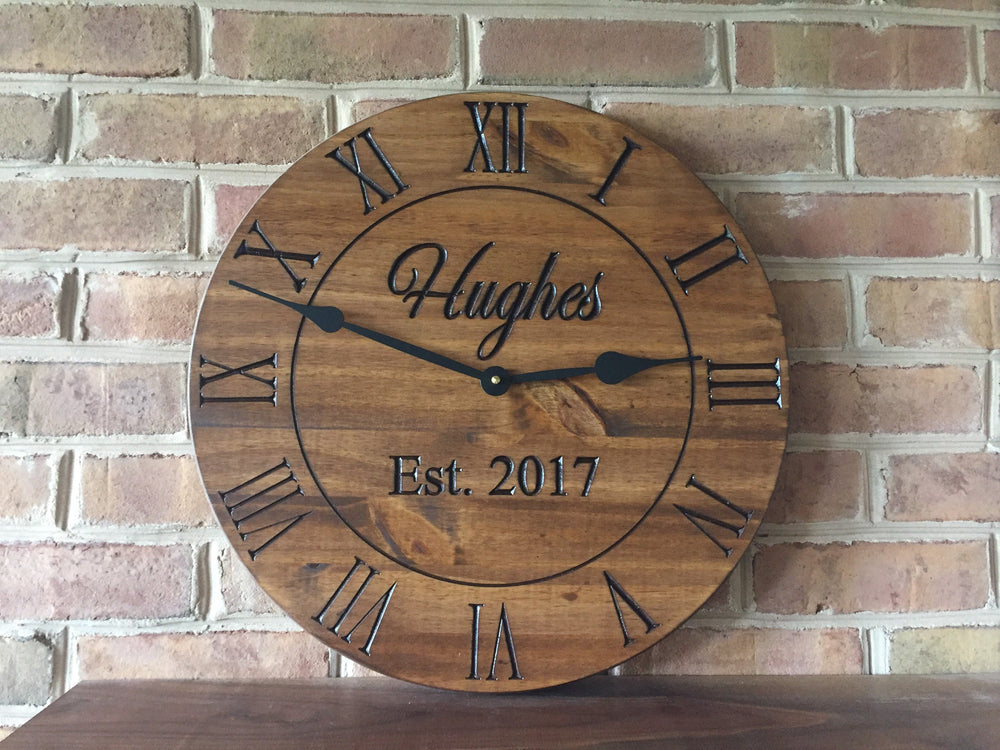 CUSTOM CLOCK WITH YOUR DATE