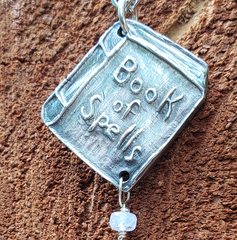 Book of Spells Necklace
