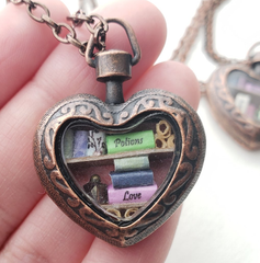 Heart Library with Book of Love