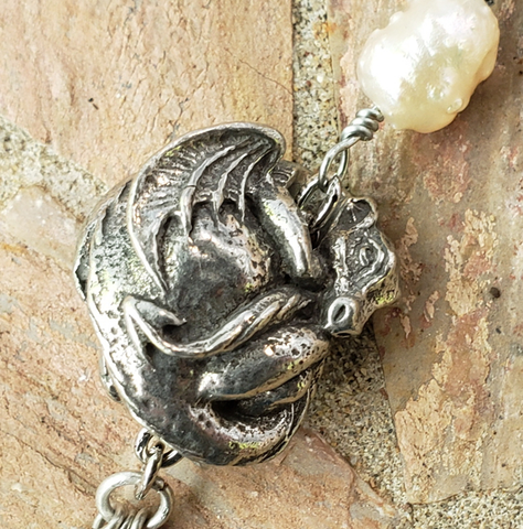 Dragon Pearl Necklace