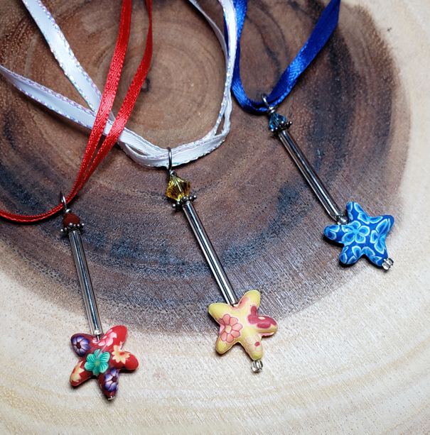 Magic Wand Fimo Necklace