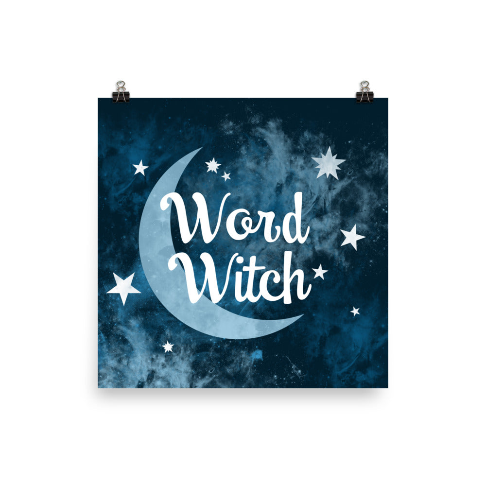 Word Witch Poster