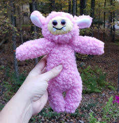 Cotton Candy Cozy Monster