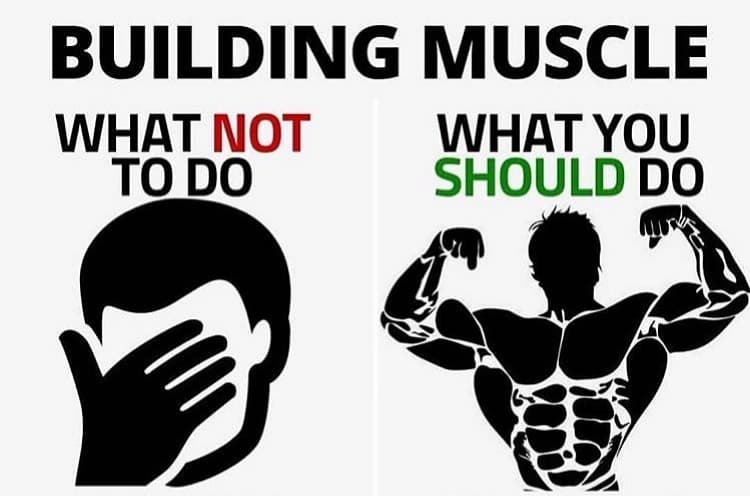 Building Muscle - The Do and Don'ts