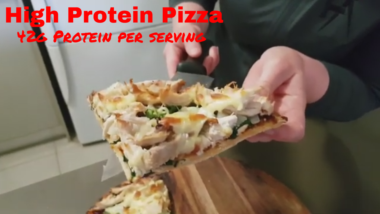 High Protein Homemade Pizza