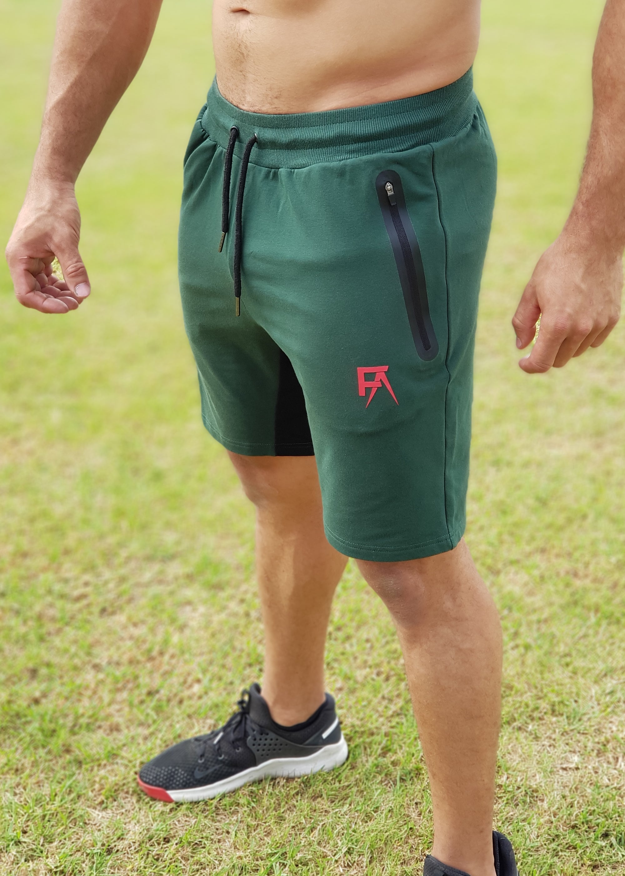 Freak Athletiq Tapered Lifestyle Shorts - Green