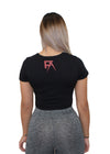 Freak Athletiq Ladies Signature Crop-top - Black