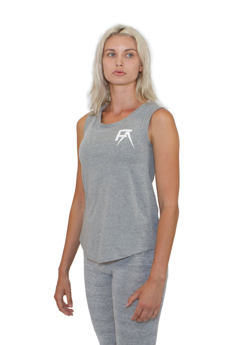 Freak Athletiq Ladies Sleeveless Tank - Heather