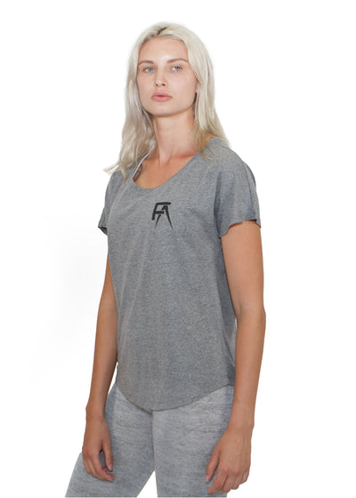 Freak Athletiq Ladies Lifestyle Tee - Heather