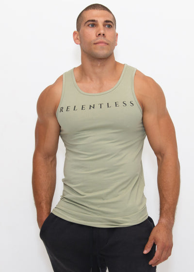 Freak Athletiq Relentless Tank - Baby Green