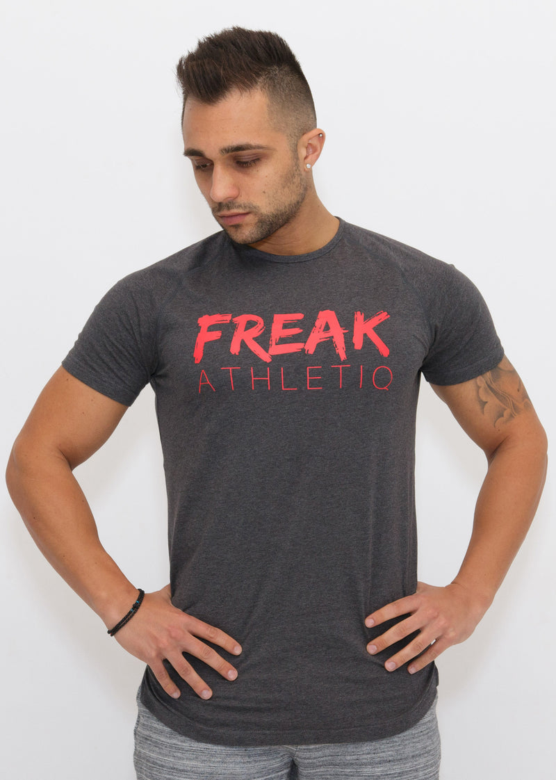 Freak Athletiq Signature V2 Tee - Charcoal