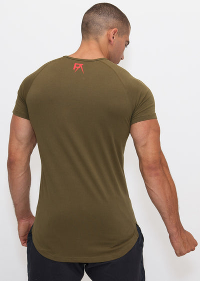 Freak Athletiq Signature V2 Tee - Khaki Green