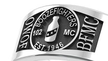 Boozefighters - Custom Ring - Stainless Ring Crafters