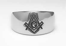 Masonic Emblem Ring - Stainless Ring Crafters