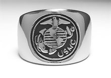 USMC Marine Corps Ring - Stainless Ring Crafters