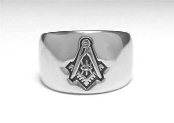 All Seeing Eye - Stainless Ring Crafters