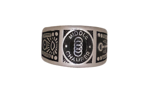 Middle Chamber - Custom Ring - Stainless Ring Crafters