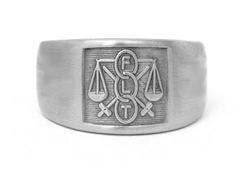 Odd Fellows Ring - Stainless Ring Crafters