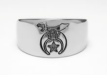 Shriner Emblem Ring - Stainless Ring Crafters