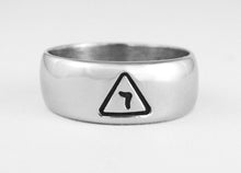 Thin Band 14th Degree Ring - Stainless Ring Crafters
