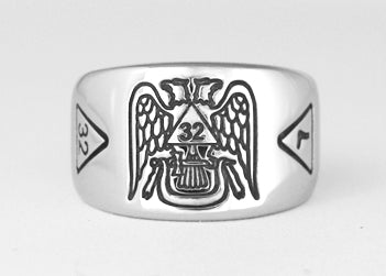 Scottish Rite Ring - Stainless Ring Crafters