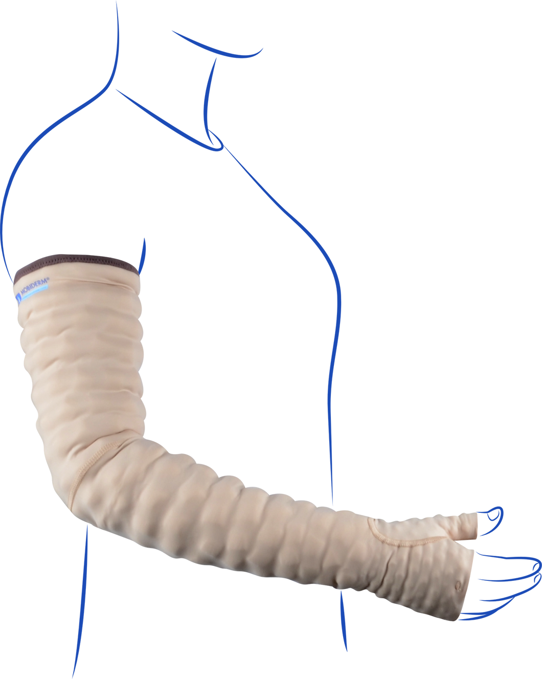 M2M Mobiderm® Sleeve with Mitten and Thumb